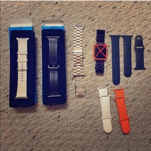 Set of Apple Watch bands 42 or 44 mm sized